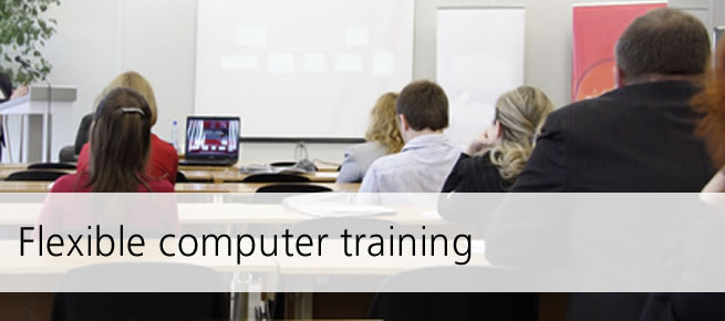 Flexible computer training